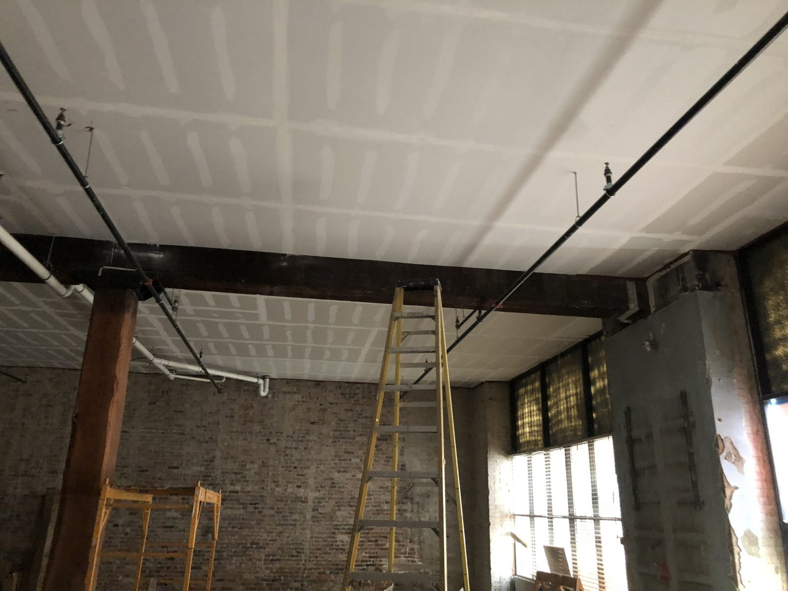 ceiling not done