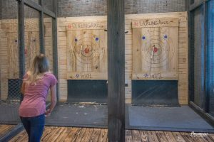 axe throwing range