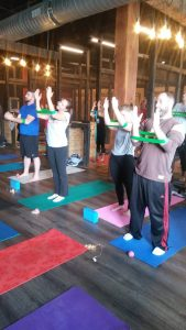 Yoga and Axes Arm Bands