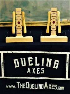 Dueling Axes Custom Leage Trophies