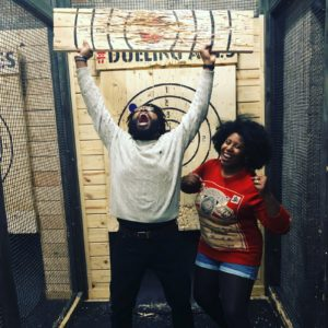 Axe Throwing tournament winner