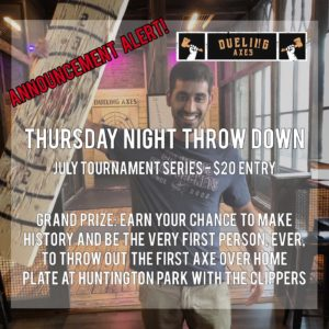 Thursday Night Throw Down