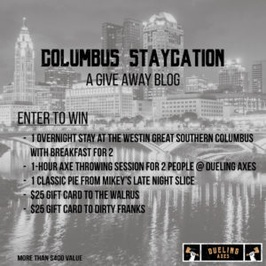 Columbus staycation