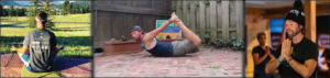 yoga and axes with mike rudd