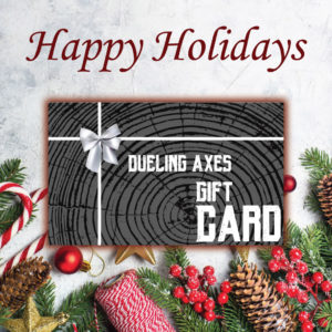 dueling axes gift certificate